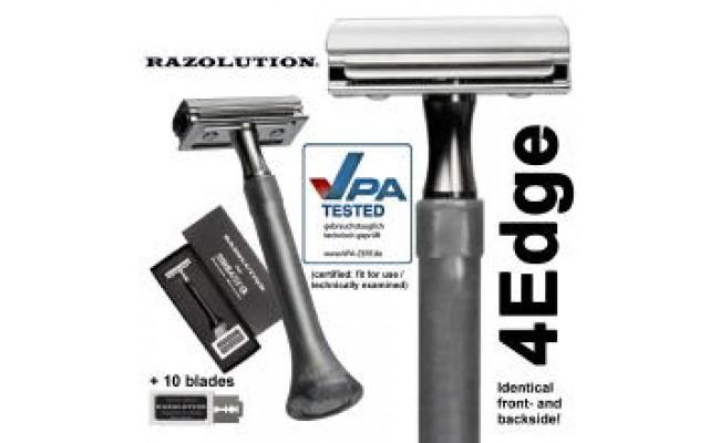 RAZOLUTION Çift jiletli sakal tıraş makinası